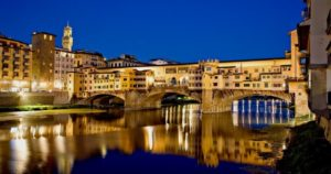 Florence Tour - Ponte Vecchio by night