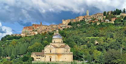 Montepulciano, Pienza & Montalcino Full Day Tour with Paola Migliorini